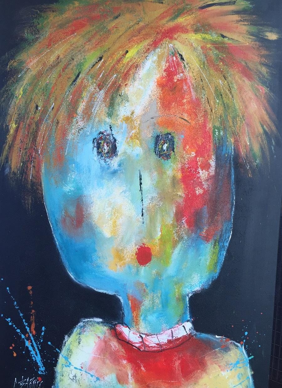 Camille - Huile sur toile - 116x73 cm