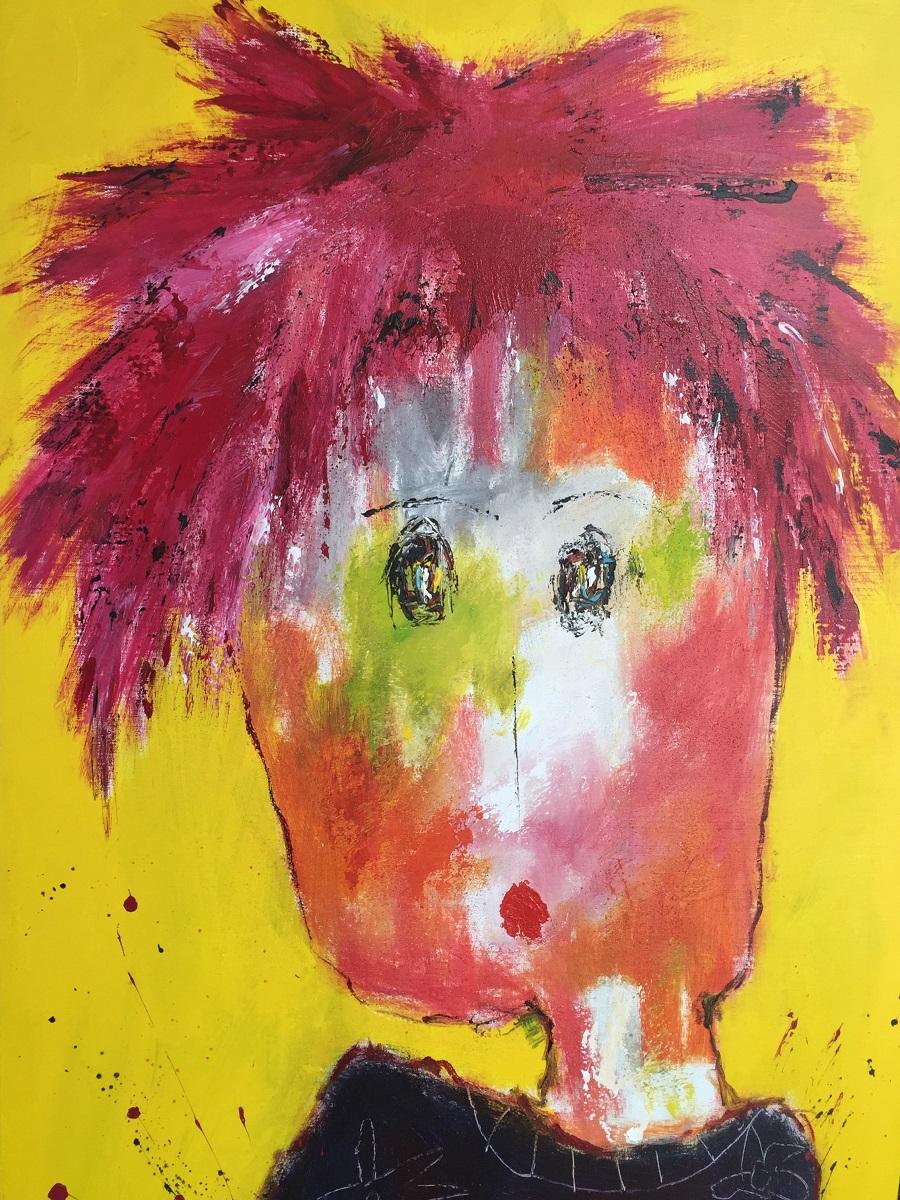 Rosalie - Huile sur toile - 116x73 cm