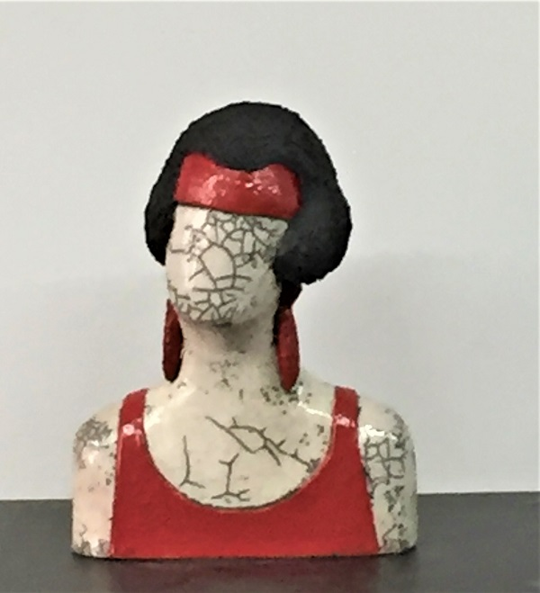 Buste Femme Art Déco - Céramique