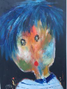 Amboise - Huile sur toile - 116x73 cm