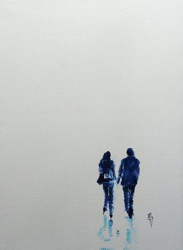Plaisir de toi - Huile sur toile - 73x54 cm
