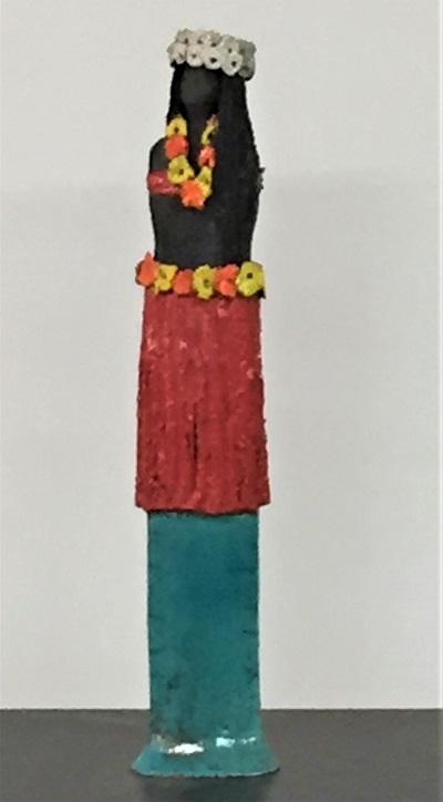 Tahitienne - Céramique - 42 cm