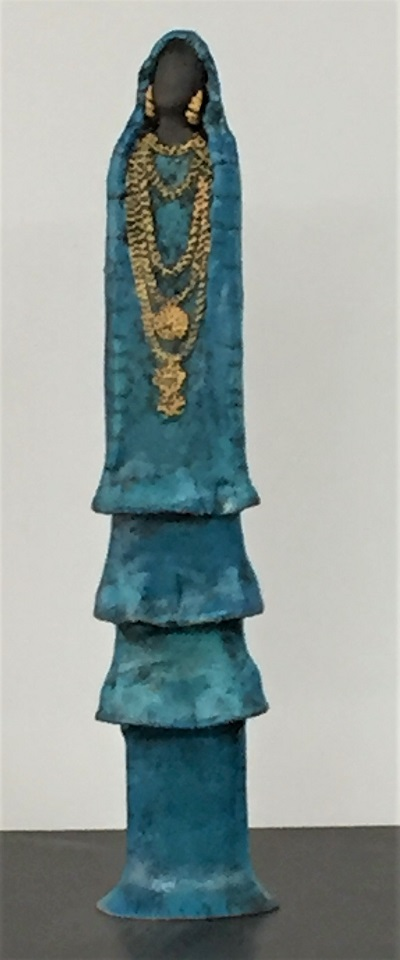 Femme Touareg - Céramique - 42 cm