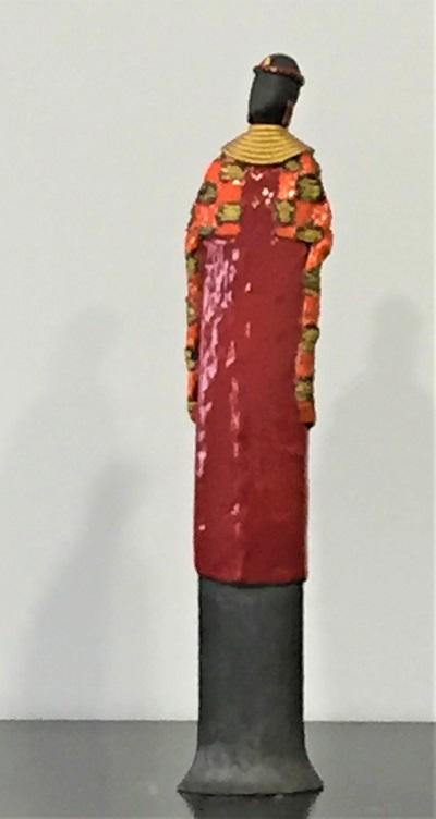 Massaï - Céramique - 42 cm