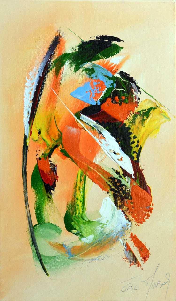 Belle couleur - Acrylique sur toile - 50x30 cm