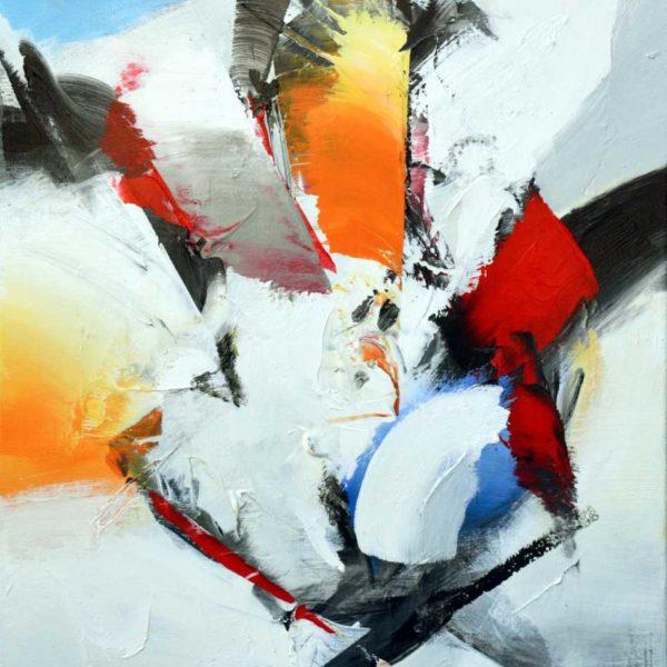 En forme - Acrylique sur toile - 80x60 cm