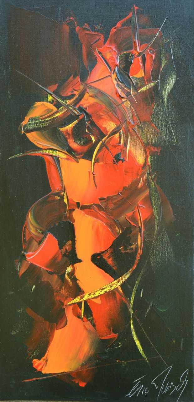 Epreuve d'Artiste - Acrylique sur toile - 60x30 cm