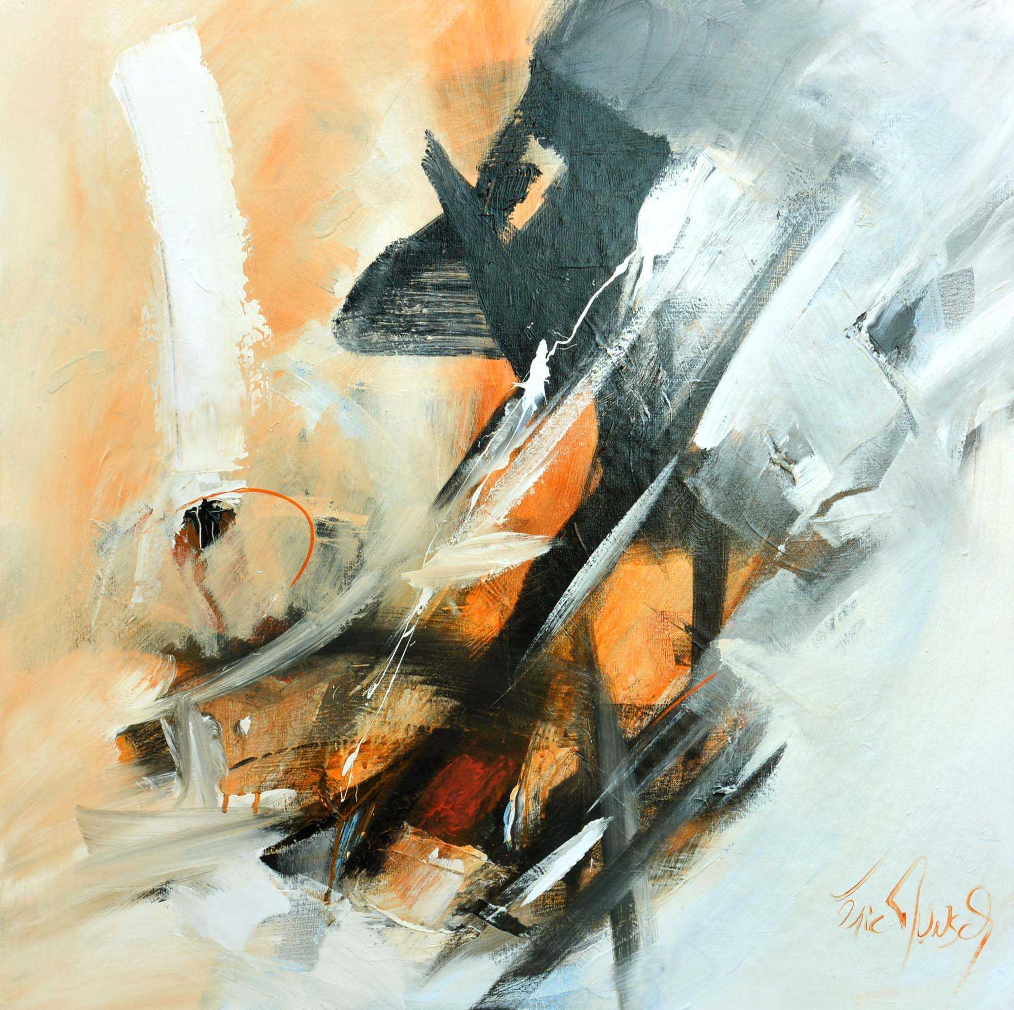 Etat d'âme - Acrylique sur toile - 80x80 cm