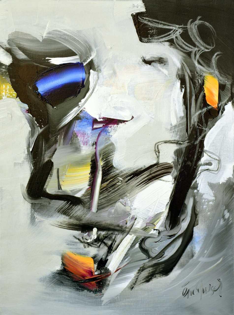 Just a dream - Acrylique sur toile - 80x60 cm