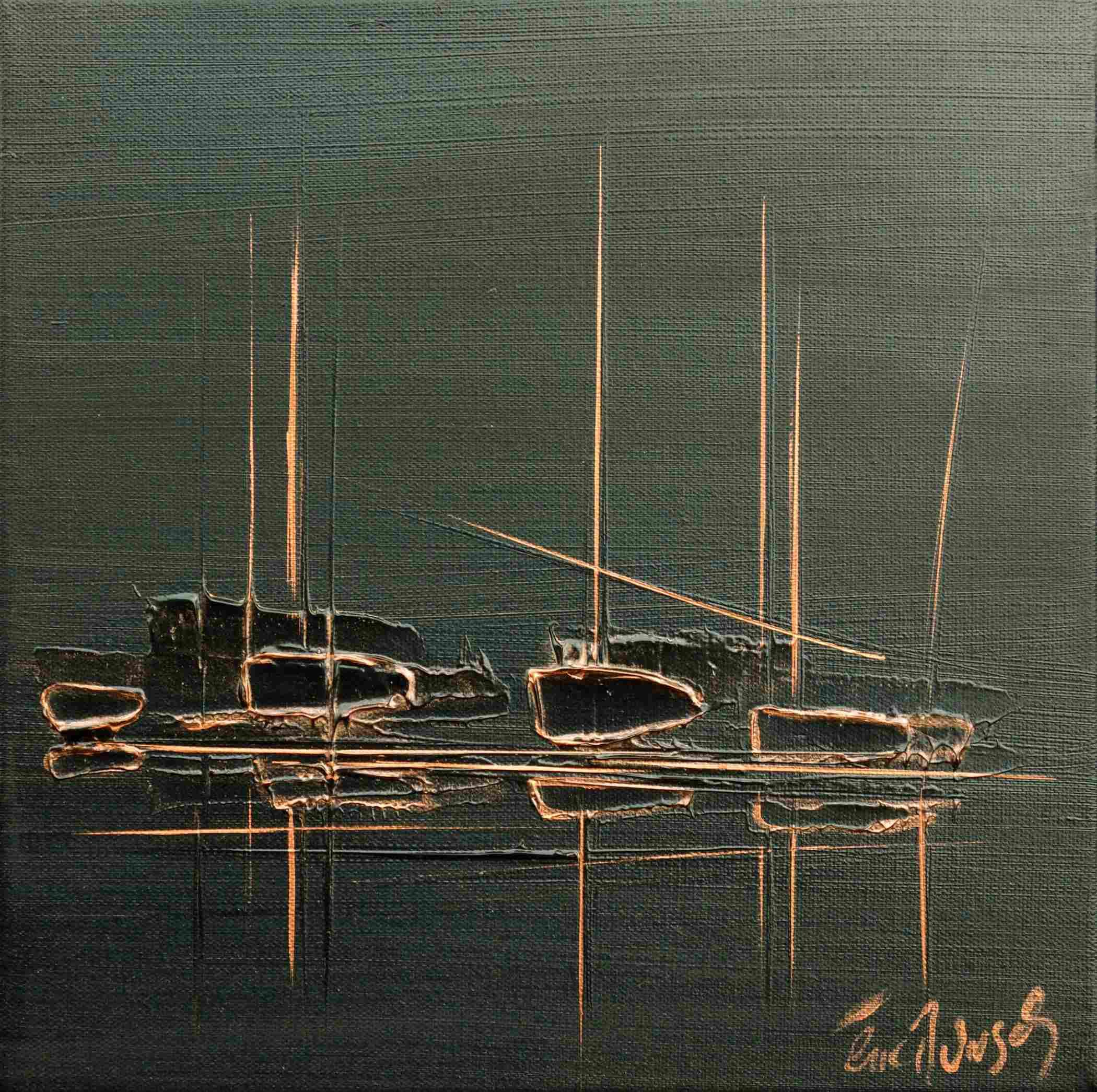 Epreuve d'Artiste - Eric Munsch - Acrylique sur toile - 30x30 cm - Galerie Bost